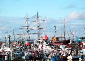Der Hafen in Gilleleje