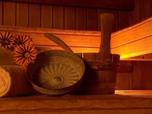 Wohlfühlen und entspannen mit einem Sauna Besuch.